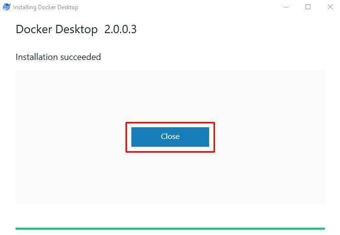 Docker desktop requires windows 10 pro or enterprise version 15063 to run