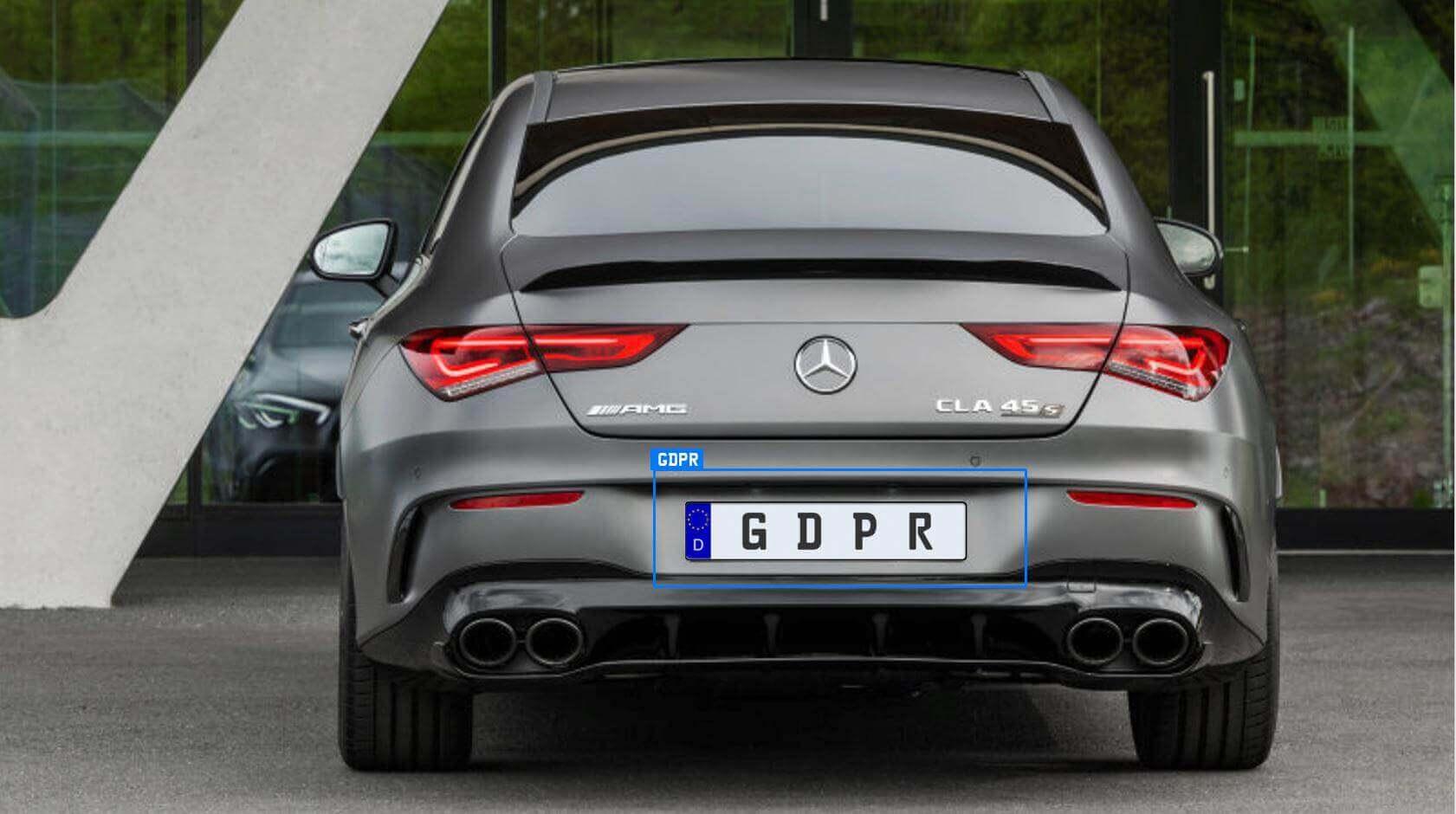 ANPR GDPR Number Plate Recognition
