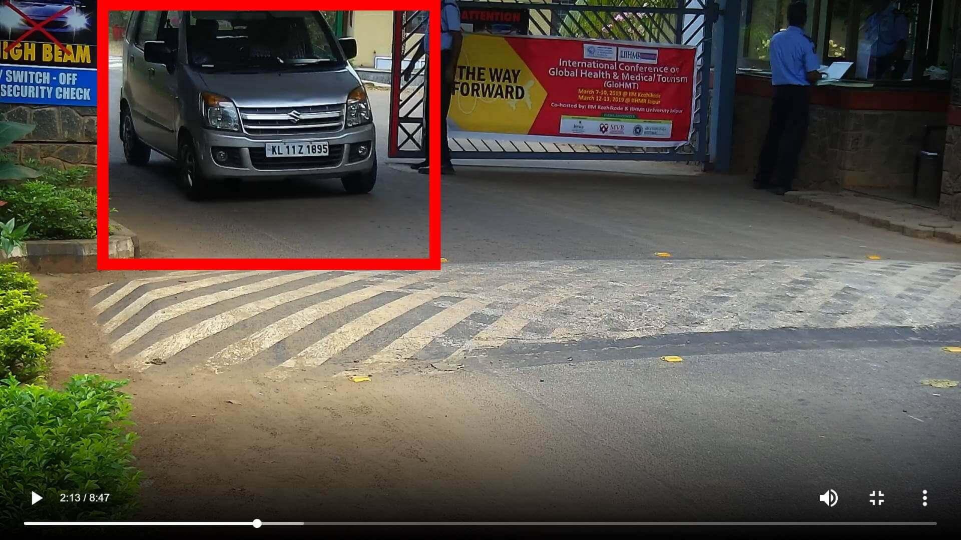 ANPR India Parking Management Camera Focus