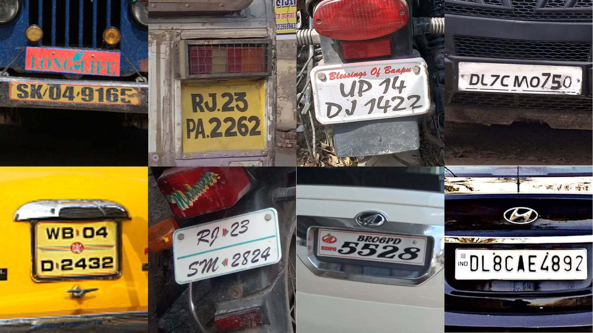 Automatic number plate recognition India