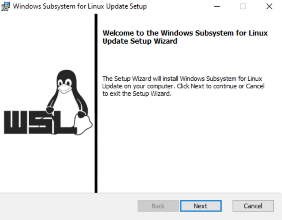 ALPR software WSL 2 setup