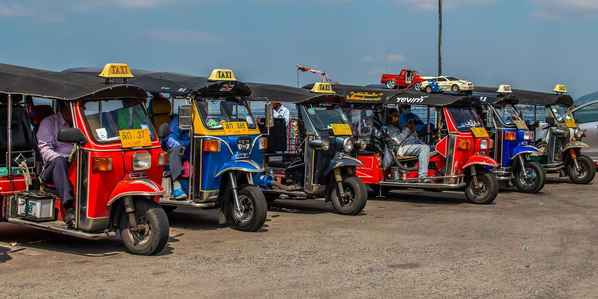 ALPR ANPR for Thai TukTuk