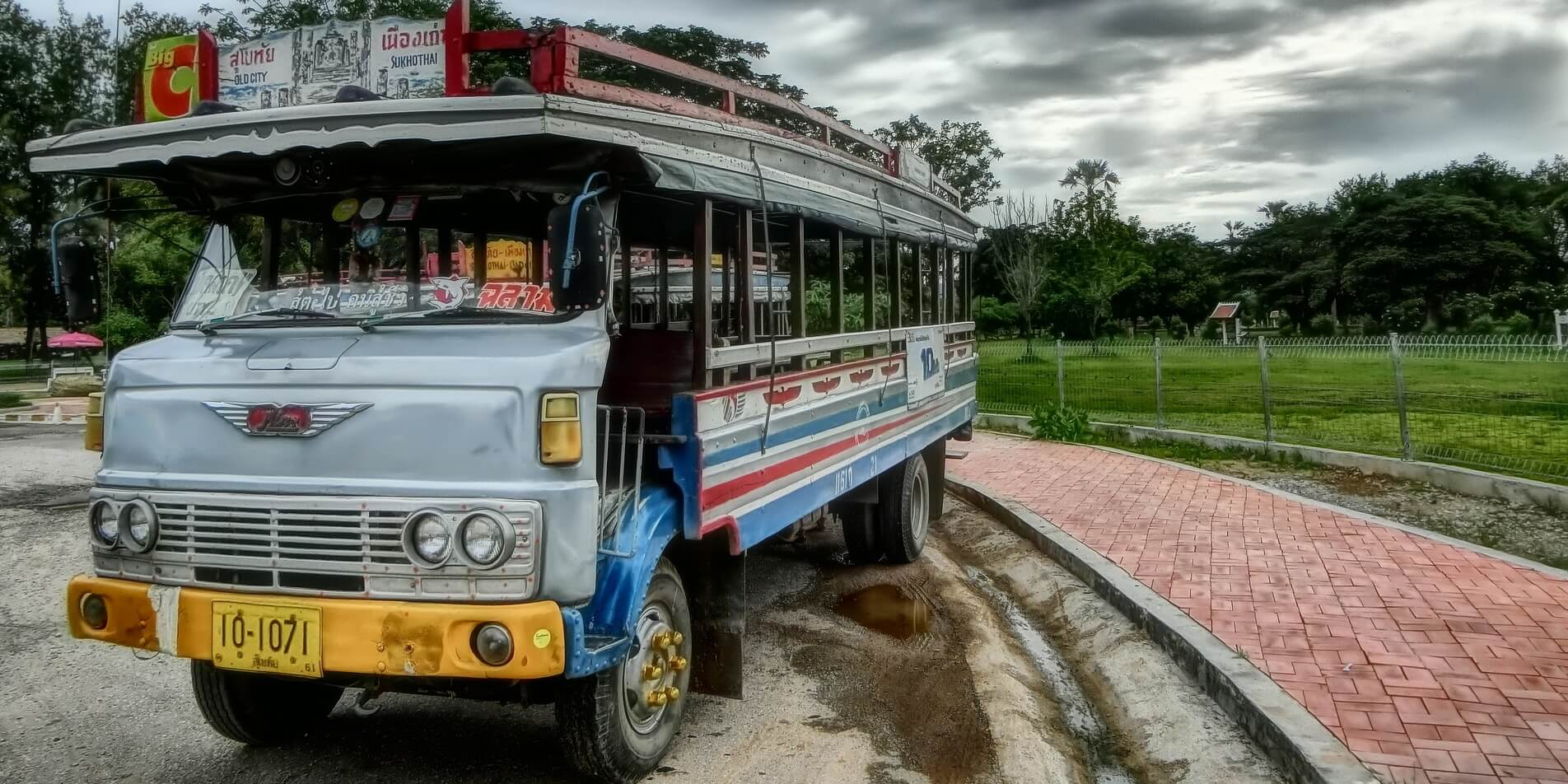 ALPR ANPR for Thailand Bus