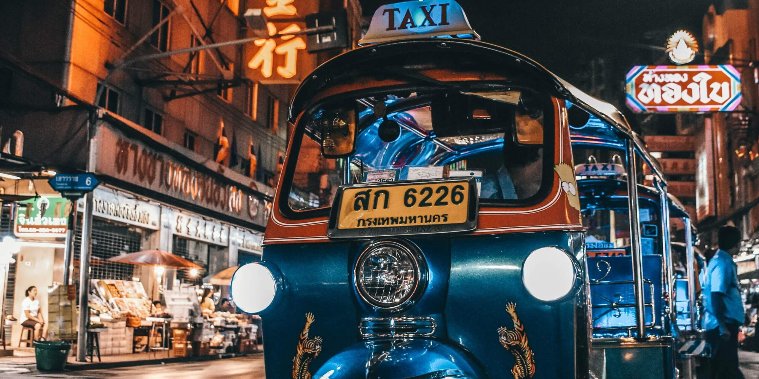 ALPR ANPR for Thailand Taxi